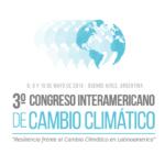 Del 8 al 10 de Mayo, el 3º Congreso Interamericano de Cambio Climático.