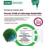 """Ya está en marcha la VI edición del """"Premio CCAB al Liderazgo Sostenible"""""""