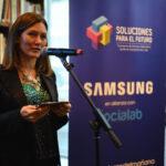 Cynthia Giolito, Gerente de Ciudadanía Corporativa de Samsung