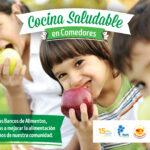 """VEA junto a la Red Bancos de Alimentos lanzan """"Cocina Saludable en Comedores"""""""