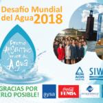 "Ganadores del ""Premio Argentino Junior del Agua"" participarán de la Semana Mundial del Agua"