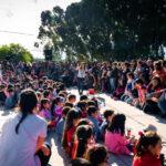 Primer concierto de niños alimentado con paneles solares
