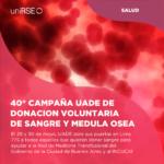 Campaña de Donación de Sangre para ayudar a Hospitales, en UADE