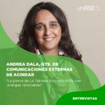 Andrea Dala, Gerente de Comunicaciones Externas y Responsabilidad Corporativa de Acindar