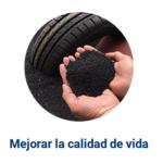 La planta recicladora que transforma neumáticos en desuso