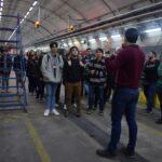 Puertas abiertas: 25 estudiantes becados visitan el Subte y sus instalaciones
