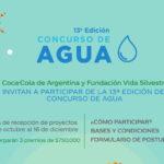 13° edición del Concurso de Agua