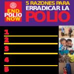 Día mundial contra la Polio