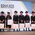 """91 alumnos del programa """"Educate para el Cambio"""", concluyeron sus estudios secundarios"""