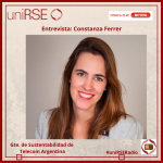 Constanza Ferrer - Gte. de Sustentabilidad de Telecom Argentina