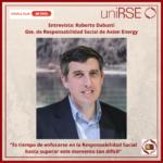 Roberto Dabusti, Gte. de Responsabilidad Social de Axion Energy
