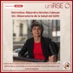 Alejandra Sánchez Cabezas, Directora del Observatorio de la Salud del Grupo de Fundaciones y Empresas