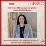 María Alejandra Iglesias, Pta. de Asociación Civil Sosten