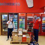 Carrefour rescató más de 80 toneladas de alimentos y los transformó en 400 mil platos de comida