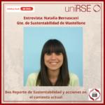 Natalia Bernasconi, Gte. de Sustentabilidad de Mastellone