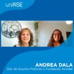 Andrea Dala, Gerente de Asuntos Públicos y Fundación Acindar