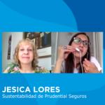 Jesica Lores, Supervisora de Sustentabilidad y Comunicación Interna de Prudential Seguros