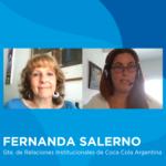 Fernanda Salerno, Gte. de Relaciones Institucionales de Coca-Cola
