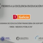 Banco Galicia ganador de la 1º edición de los Premios a la Excelencia en Educación Financiera 2020