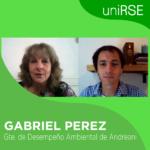 Gabriel Pérez, Gte. de Desempeño Ambiental de Grupo Logístico Andreani
