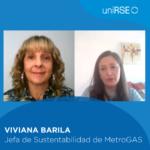 Viviana Barilá, Jefa de Sustentabilidad de Metrogas
