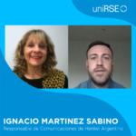 Ignacio Martinez Sabino, Responsable de Comunicaciones de Henkel Argentina en uniRSE TV