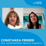 Constanza Ferrer, Gerente de Sustentabilidad de Telecom Argentina
