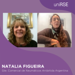 Natalia Figueira, Gte. Comercial de Neumáticos Antártida Argentina