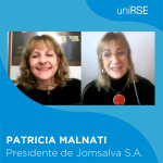 Patricia Malnati, Presidente de Jomsalva S.A. en uniRSE TV