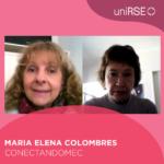 María Elena Colombres, ccreadora de Conectandomec en uniRSE TV.